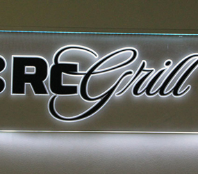 LED-skylt RC Grill